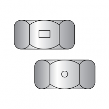 Two Way Reversible Lock Nuts - Finished Pattern - 18-8 Stainless