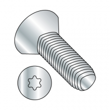 Flat - Six Lobe - General Alternatives to Taptite® Thread Rolling Screws* - Zinc