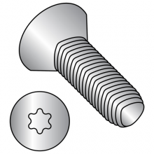 Flat - Six Lobe - General Alternatives to Taptite® Thread Rolling Screws* - 18-8 Stainless