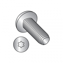 Pan - Six Lobe - Alternatives to Taptite® Thread Rolling Screws* 18-8 Stainless