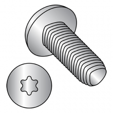 Pan - Six Lobe - Alternatives to Taptite® Thread Rolling Screws* - 410 Stainless