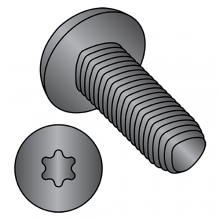 Pan - Six Lobe - Alternatives to Taptite® Thread Rolling Screws* - Black Zinc