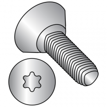 82° Flat Undercut - Six-Lobe - Alternatives to Taptite® Thread Rolling Screws* - 18-8 Stainless