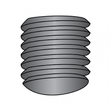 Socket Set Screws - Imported - Oval Point - Coarse Thread