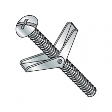 Combination Round Head - Toggle Bolt - Zinc Plated