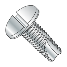 Pan - Slotted - Type 23 - Thread Cutting Screws - Zinc