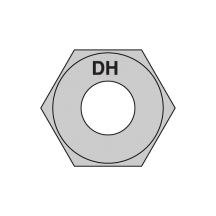 A563 Grade DH Heavy Hex Nuts