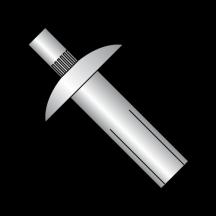 Brazier Masonry Aluminum Rivet
