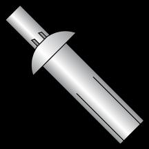 Universal Aluminum Drive Rivet