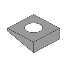 Square Beveled Washer F 436 A 325 A 490 Plain