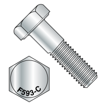 Hex Cap Screw 18 8 Stainless Steel