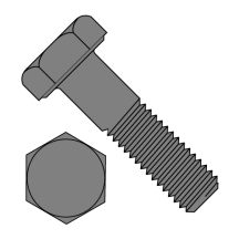 Hex Cap Screw Grade 2 Plain
