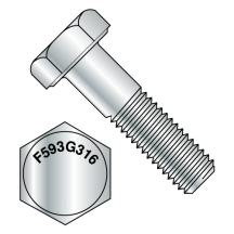 Hex Cap Screw 316 Stainless Steel