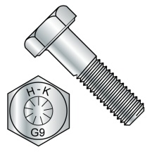 Grade 9 Steel EcoGuard Gray Silver Finish Bolts