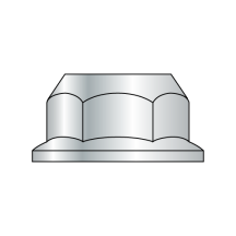 DIN 6923 Metric Non Serrated Flange Lock Nuts