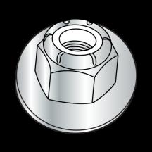 Metric DIN 6926 Nylon Insert Hex Flange Nuts