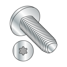 DIN 7500CE - METRIC - PAN - Six Lobe - THREAD ROLLING SCREWS - ZINC