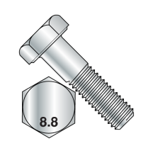 Metric Threaded Cap Hex Bolts