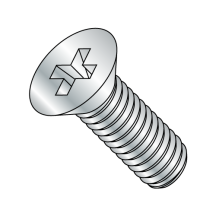 Din 965 - Flat - Phillips - (Type H) - Machine Screws - Zinc