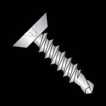 82 Flat Undercut Self Drilling Screws