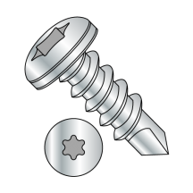 Pan - Six-Lobe - Self Drilling Screws - Zinc