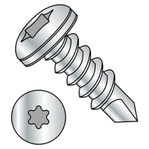Six Lobe - Pan - Self Drilling Screws - 410 Stainless Steel