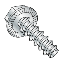 Serrated - Hex Washer - Unslotted - Alternatives to Plastite* 48-2 - Thread Rolling Screws - Zinc