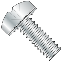 ISO 7045 - Pan -  Phillips - Internal Tooth - SEMS - Machine Screws - Zinc