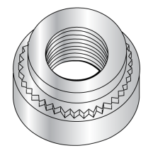Metric Self Clinching Nut Zinc