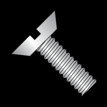 Slotted 82 Flat Undercut Head Machine Screws