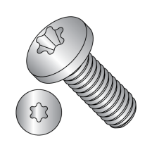 Six Lobe Pan Head Machine Screws