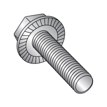 Serrated Hex Washer Flange Screws