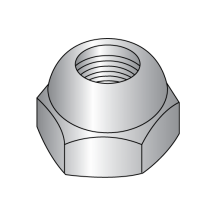 Open End - Acorn Hex Nut - Nickel Plated