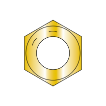 Coarse Thread Hex Nut Grade 8 Domestic Zinc Yellow DFAR