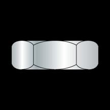 Small Pattern Hex Machine Screw Nuts Zinc