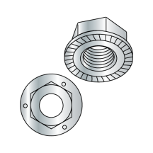 Grade 5 Serrated Flange Lock Nuts