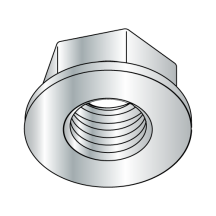 Non Serrated Flange Hex Nuts Case Hardened HR15N 78 90 Zinc and Bake