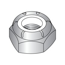 Nylon Insert Stop Nuts - Thin - 18-8 Stainless