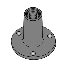 Round Base Weld Nuts