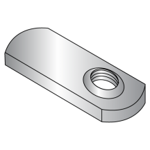 Tab Weld Nuts - Offset Hole - 1.125