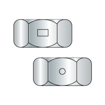 Two Way Reversible Lock Nuts - Finished Pattern - Zinc