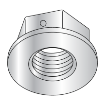 Non Serrated Flange Lock Nuts