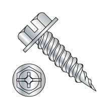Combination Drive - Hex Washer - Self Piercing Screws - Zinc