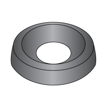Countersunk Finishing Washers - Black Zinc