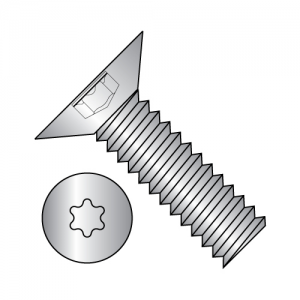 Flat 100° - Six Lobe - Machine Screw - Full Thread - 18-8 Stainless